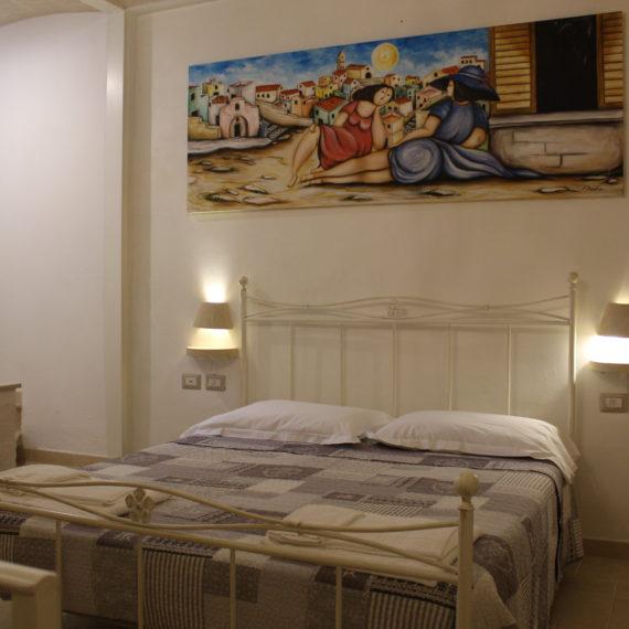 Letto comodo stanza privata nei Sassi di Matera